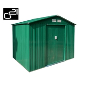 G21 Zahradní domek GAH 429 - 251 x 171 cm, zelený