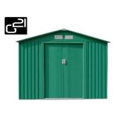 G21 Zahradní domek GAH 580 - 251 x 231 cm, zelený