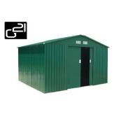 G21 Zahradní domek GAH 905 - 311 x 291 cm, zelený