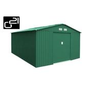 G21 Zahradní domek GAH 1092 - 311 x 351 cm, zelený