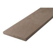G21 Zakončovácí lišta plochá 0,9*9*200cm, Indický teak mat. WPC