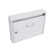 G21 Schránka poštovní paneláková 320x240x60mm bílá bez děr