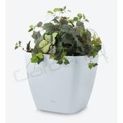 G21 Samozavlažovací květináč Cube maxi bílý 45cm