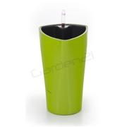 G21 Samozavlažovací květináč Trio mini zelený 26cm
