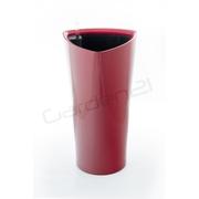 G21 Samozavlažovací květináč Trio červený 56.5cm