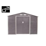 G21 Zahradní domek GAH 706 - 277 x 255 cm, šedý