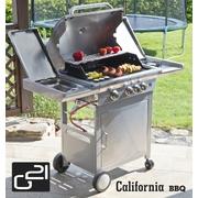 G21 Plynový gril California BBQ Premium line, 4 hořáky + zdarma redukční ventil