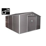 G21 Zahradní domek GAH 1300 - 340 x 383 cm, šedý