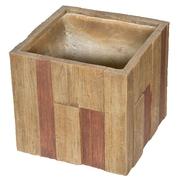G21 Květináč Wood Cube 44cm