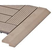 G21 Přechodová lišta pro WPC dlaždice indický teak, 38,5x7,5 cm rohová