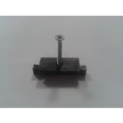 G21 Příchytka terasového prkna k nosníku terasových prken s ocelovým šroubem