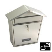G21 Schránka poštovní LORI 320x380x105 nerez