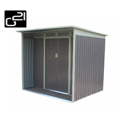 G21 Zahradní domek GBAH 418 - 203 x 172 cm, šedý