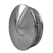 Nerezové zábradlí - končení madla AISI304, D42,4x2