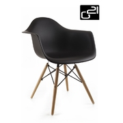 G21 Designová židle Lumber Black