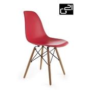 G21 Designová židle Timber Red