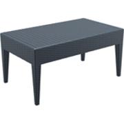 SIESTA EXCLUSIVE; Stůl MIAMI LOUNGE šedý