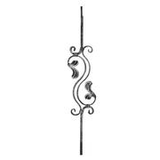 Tyč kovaná,zábradlí,výplň zábradlí, brána h900, b1