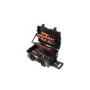 Kufr s nářadím pro elektromechaniky Competence XXL, 115 dílů, kufr na kolečkách, WIHA 40524