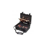 Kufr s nářadím pro elektromechaniky Competence XL, sada 80 dílů, WIHA 40523