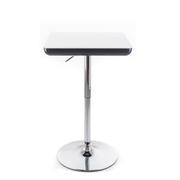 G21 Barový stolek Whieta white/black, plastový