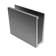 Kotvění vrchní - sklo hliník, effect/Inox, L:2500