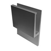 Kotvění boční, spodní- sklo hliník, effect/Elox, L:5000
