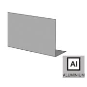 Krycí lišta pro profil-boční spodní kotvení-ELOX AL, elox, L2500