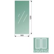 Čiré, kalené lepené sklo 16,76-120x50