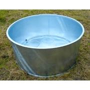 Napájecí kruhová nádoba 1000 l s výpustí