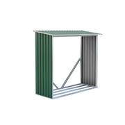 G21 Přístřešek na dřevo WOH 136 - 182 x 75 cm, zelený