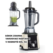 G21 Perfect smoothie Vitality Cappuccino + dárek vakuovací nástavec Vortex