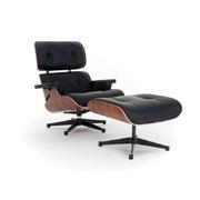 Kožené křeslo design Charles & Ray Eames replika