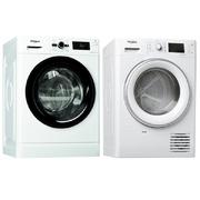 SET Whirlpool FWG71283BV EE + FT M22 9X2S EU FreshCare