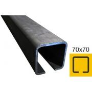 Vodíci profil 70x70x4mm Fe, L 6m