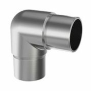 Nerezové zábradlí-koleno madla - lesk 90° AISI316, 42,4x2,0