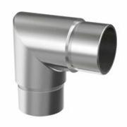 Nerezové zábradlí-spojka madla lomená AISI304, 90°/D42,4mm