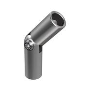 Nerezové zábradlí- spojka prutů AISI304, ±90°/d12/L60mm-lepení