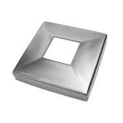 Nerezové zábradlí - rozeta 40x40/108x108, lesk