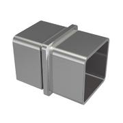 Nerezové zábradlí - spojka madla 40x40x2mm