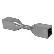 Nerezové zábradlí - přechod výplně nastavitelný 40x40/JP10x10mm