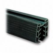 Nerezové zábradlí - držák skla elipsa - těsnění T16-17,5mm