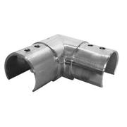 Nerezové zábradlí - držák skla - koleno, D42,4x1,5mm