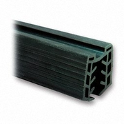 Nerezové zábradlí - držák skla - těsnění T11,5-13,5/24x24/L2500mm