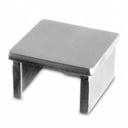 Nerezové zábradlí - Záslepka -držák skla 40x40 mm1