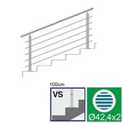 Nerezové zábradlí VS L1500, D42,4/5xd12/H1000