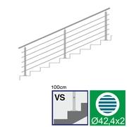 Nerezové zábradlí VS L3000, D42,4/5xd12/H1000