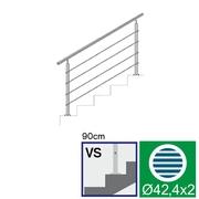 Nerezové zábradlí VS L1500, D42,4/4xl5/H900