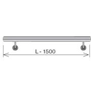 Nerezové zábradlí - Madlo AISI304, D42,4/L1500mm