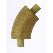Nerezové zábradlí- Koleno Buk 45°/42mm, nelak.